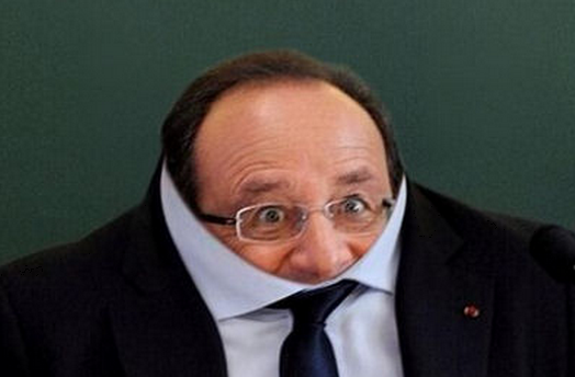 HOLLANDE manque de courage