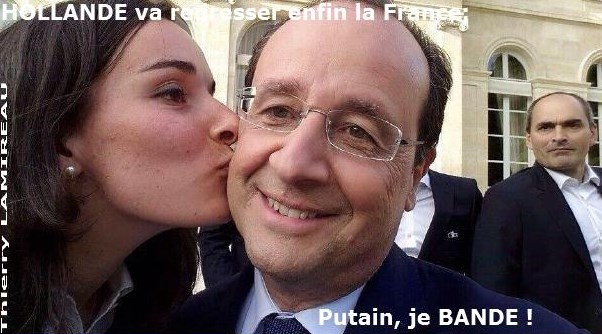 HOLLANDE va redresser enfin la FRANCE
