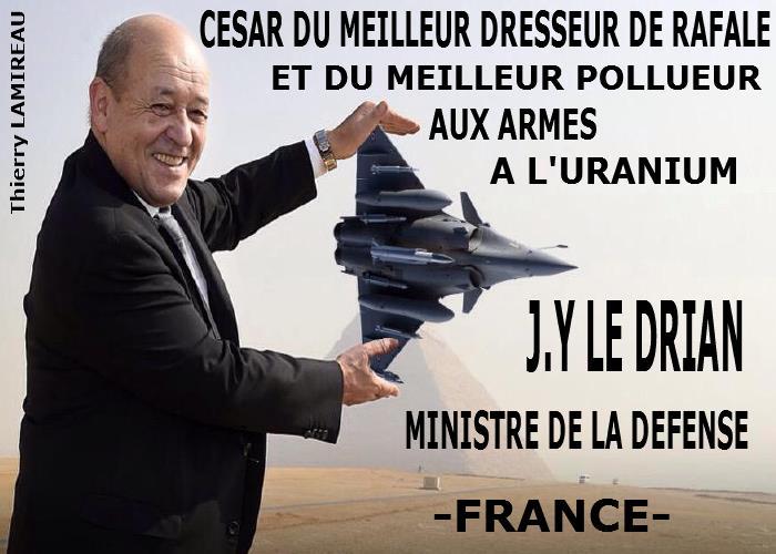 CESAR DU MEILLEUR DRESSEUR DE RAFALE J Y LE DRIAN