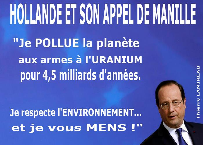HOLLANDE et l'APPEL DE MANILLE