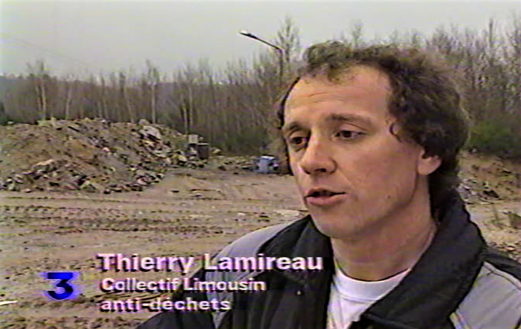 LAMIREAU Thierry pendant tournage film 1992