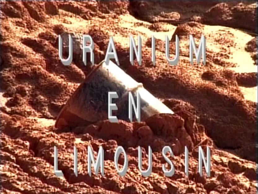 URANIUM EN LIMOUSIN 1