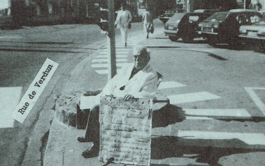Isidore DIOT dans les rues de QUIBERON