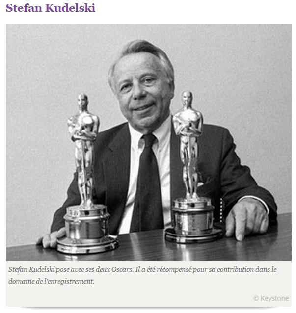 Stefan KUDELSKI et ses Oscars