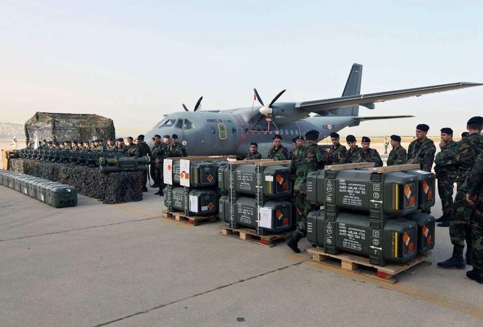Des armes à l'UA prévues pour le LIBAN livrées à l'ARABIE SAOUDITE