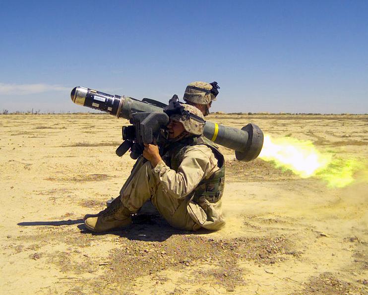 Missile JAVELIN Tête de 8,40 kg d'URANIUM appauvri