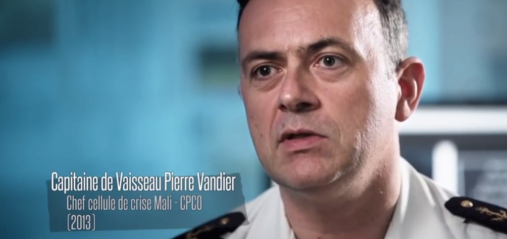 Capitaine de Vaisseau Pierre VANDIER CPCO