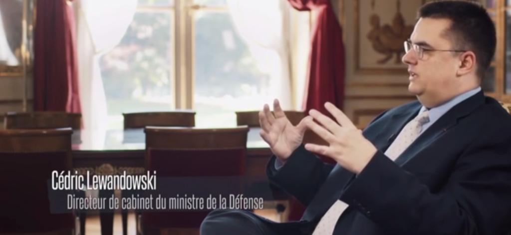 Cédric LEWANDOWSKI Dir Cabinet LE DRIAN