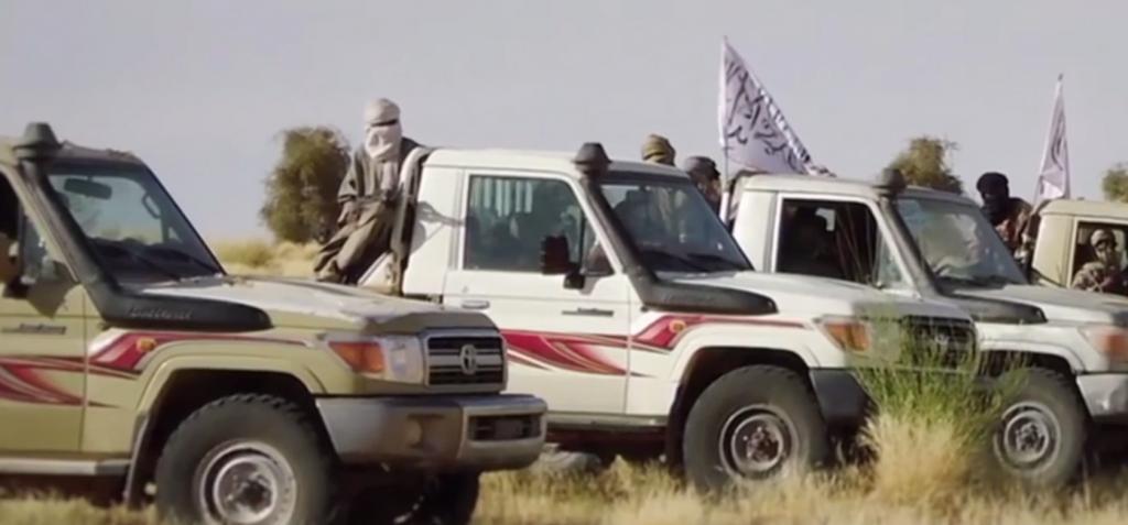 Djihadistes en pick up MALI