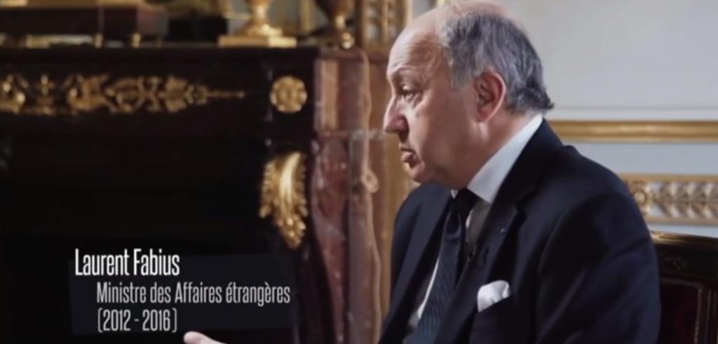Laurent FABIUS ministre Affaires Etrangères