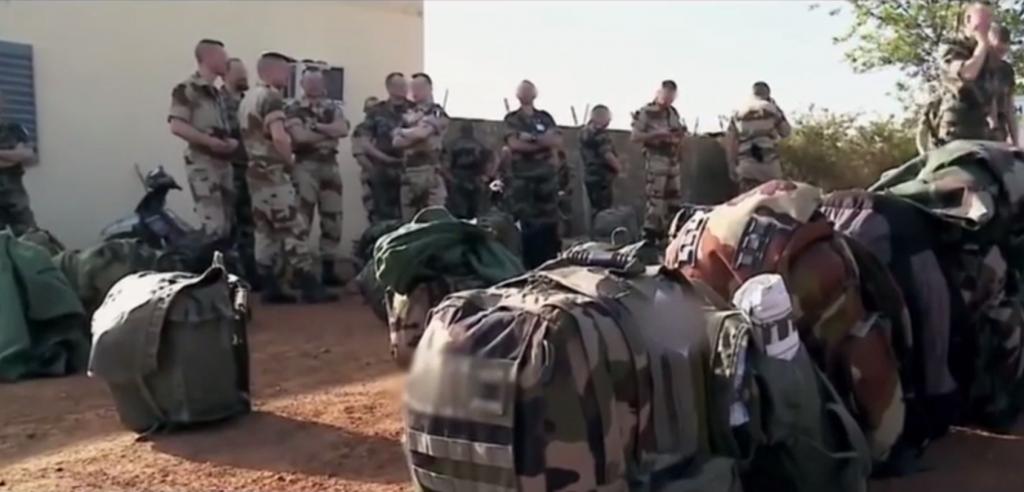 MALI soldats français en attente