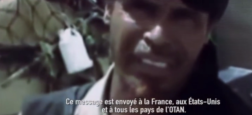 Message AQMI vers FRANCE USA OTAN