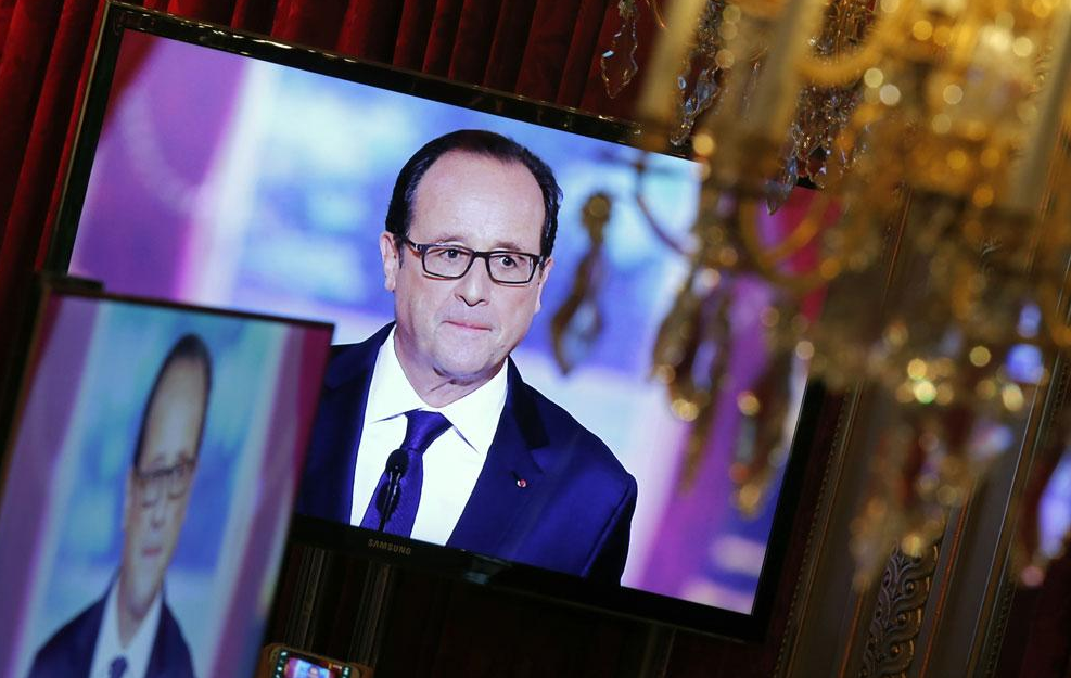 HOLLANDE à travers des écrans