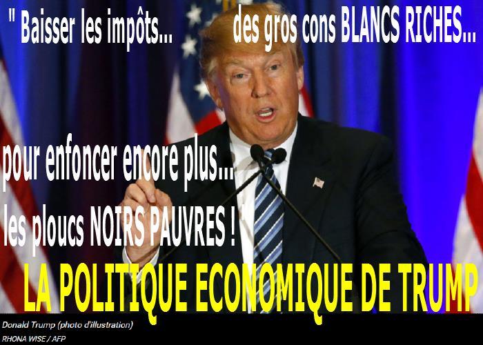LA POLITIQUE ECONOMIQUE de TRUMP