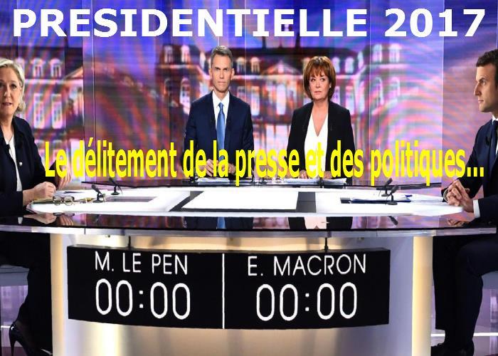 Le débat Présidentielle 2017