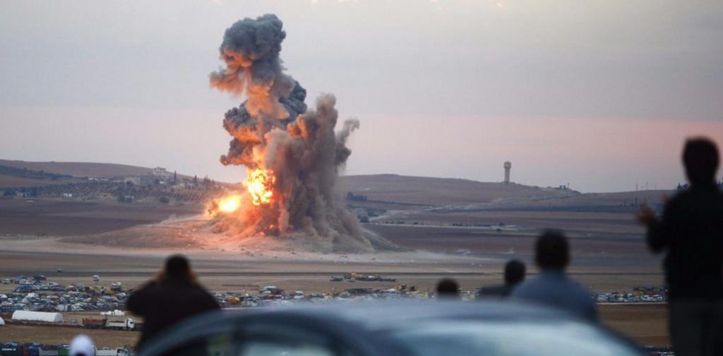 Armes russe à l'UA qui explose en SYRIE mars 2016