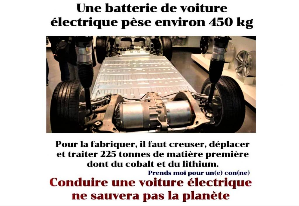 Batterie de voiture électrique et environnement