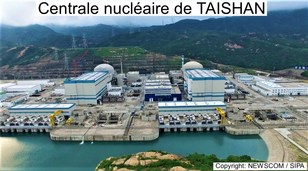 Centrale nucléaire de TAISHAN photo NEWSCOM SIPA