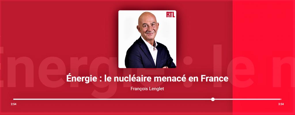 François LENGLET et le nucléaire