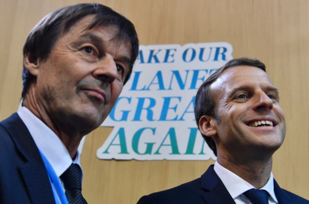HULOT MACRON Make our planet great again