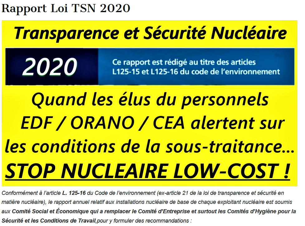 Sous traitance Titre Rapport Loi TSN 2020png