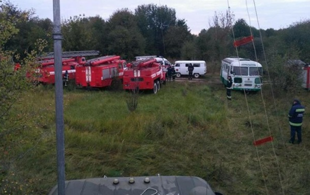Secours ukrainien entrepôt KALINOVKA