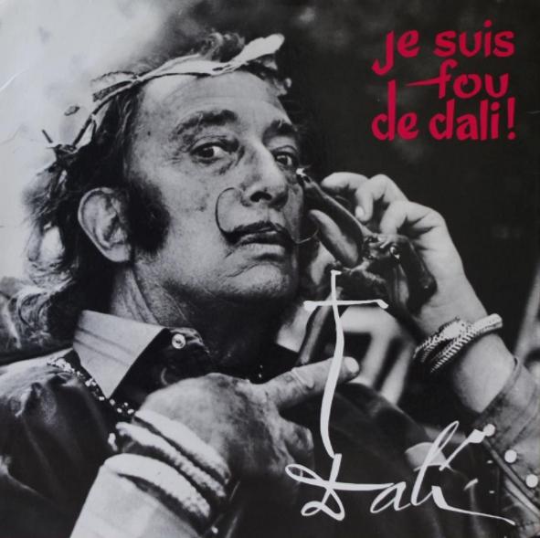 pochette 33T Je suis fou de Dali