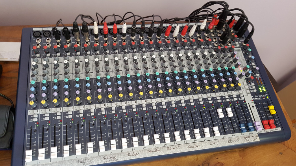 Table de mixage perso
