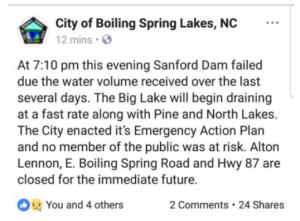 Fermeture de la route 87 la plus proche de la centrale