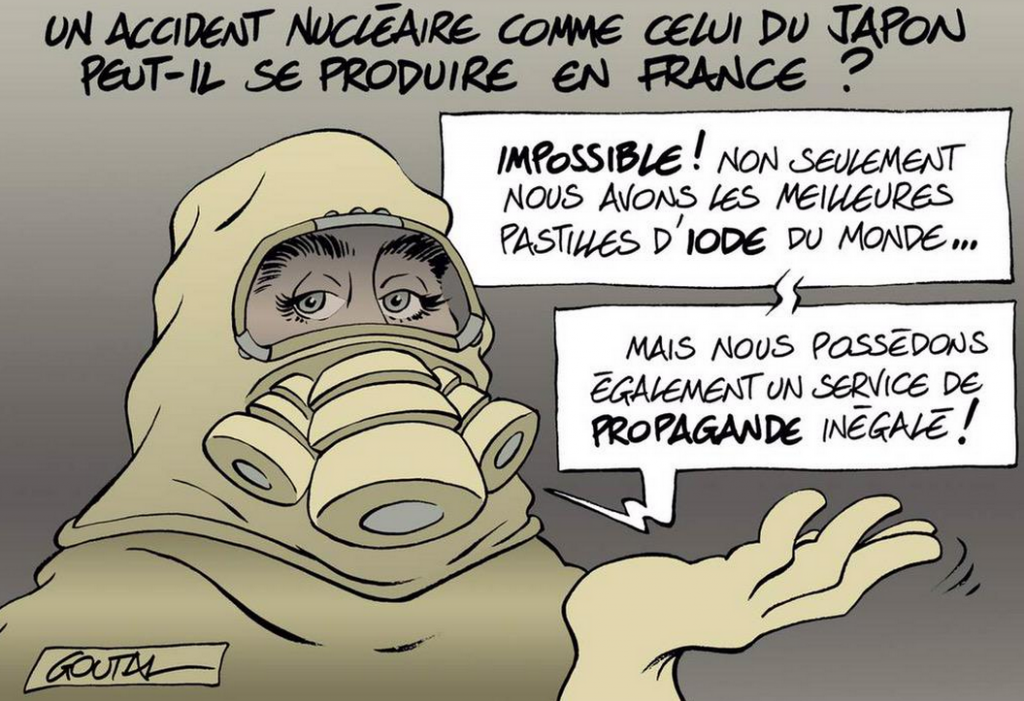 ACCIDENT NUCLEAIRE EN FRANCE