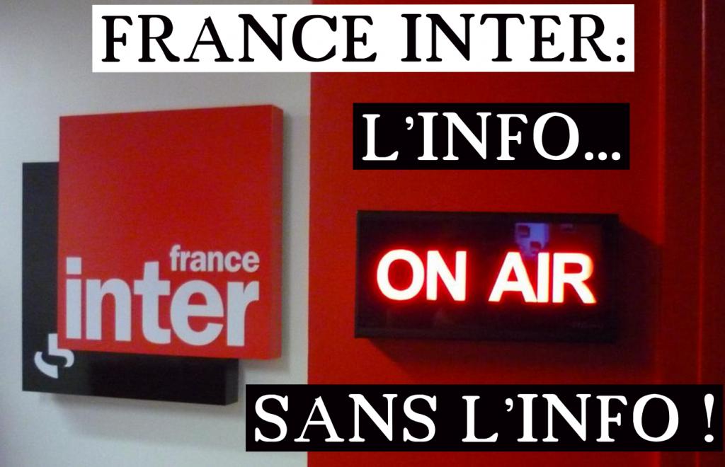 FRANCE INTER l'info sans l'info