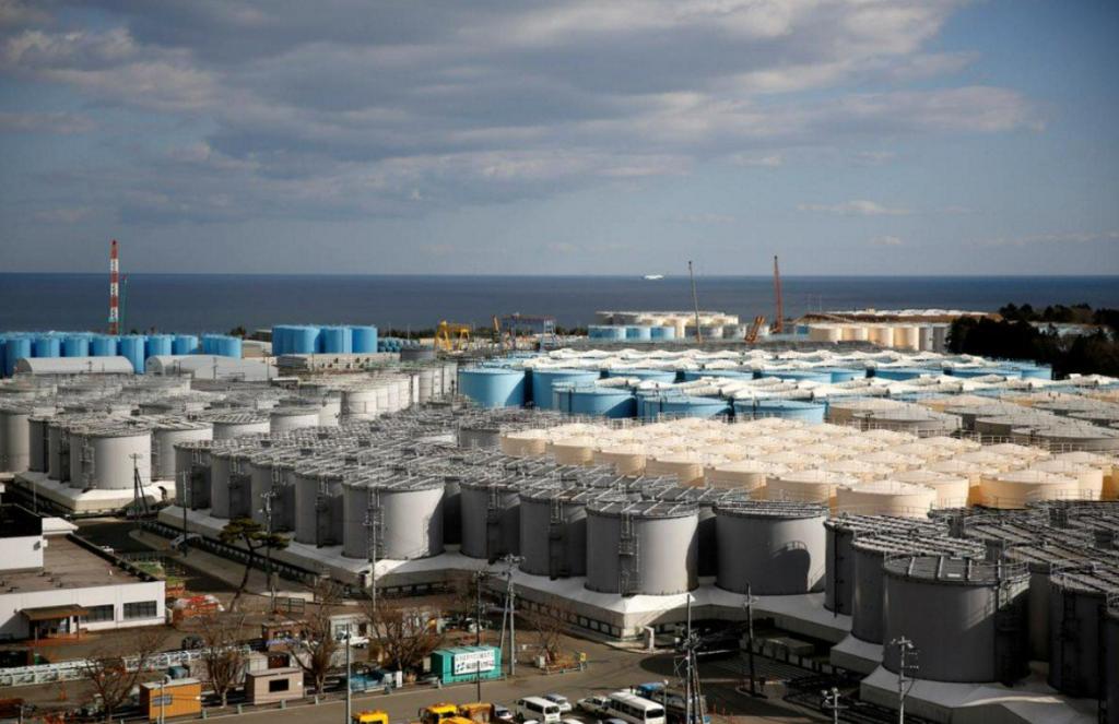 Réserves eau radioactive FUKUSHIMA Reuters