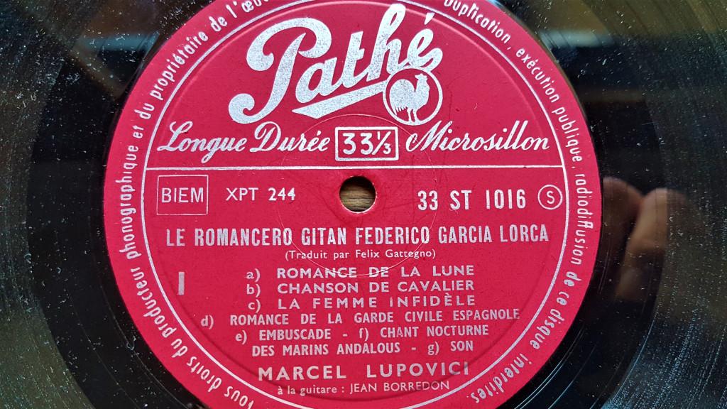 Face 1 Federico Garcia Lorca