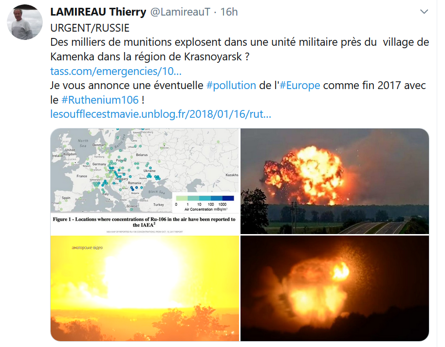 Catastrophe Kamenka alerte 5 août 2019