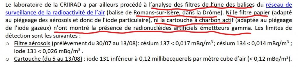 InkedFiltres et balises CRIIRAD ne décèlent pas de radioactivité août 2019_LI