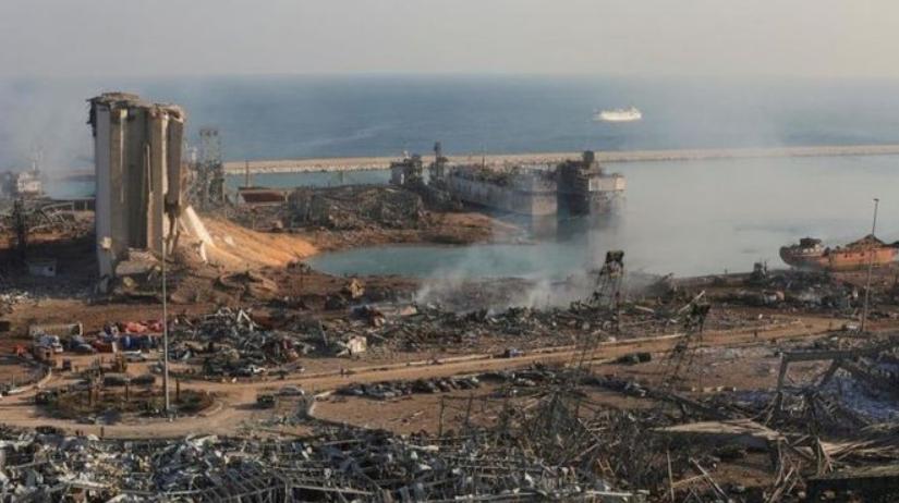 BEYROUTH après la catastrophe 4 août 2020
