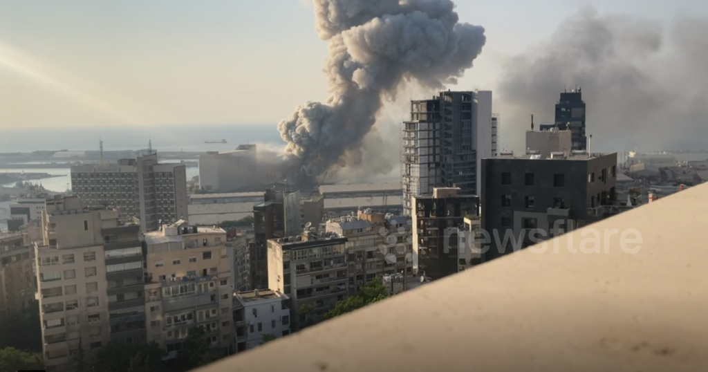 Explosions BEYROUTH 1