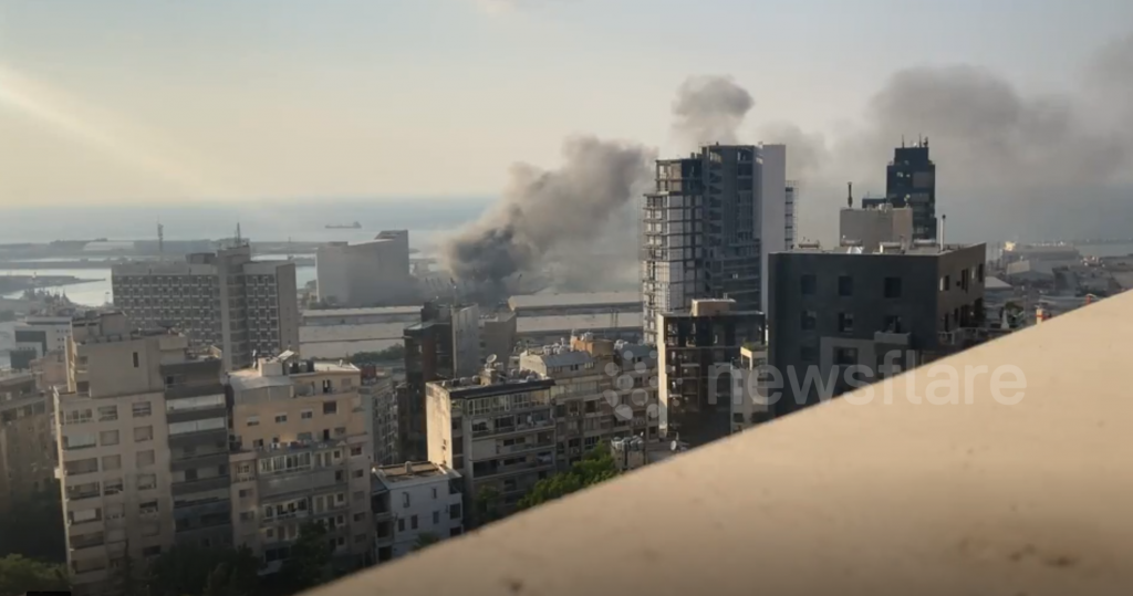 Explosions BEYROUTH 1A