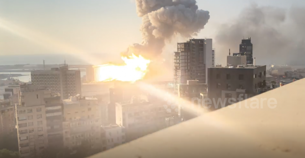 Explosions BEYROUTH 2