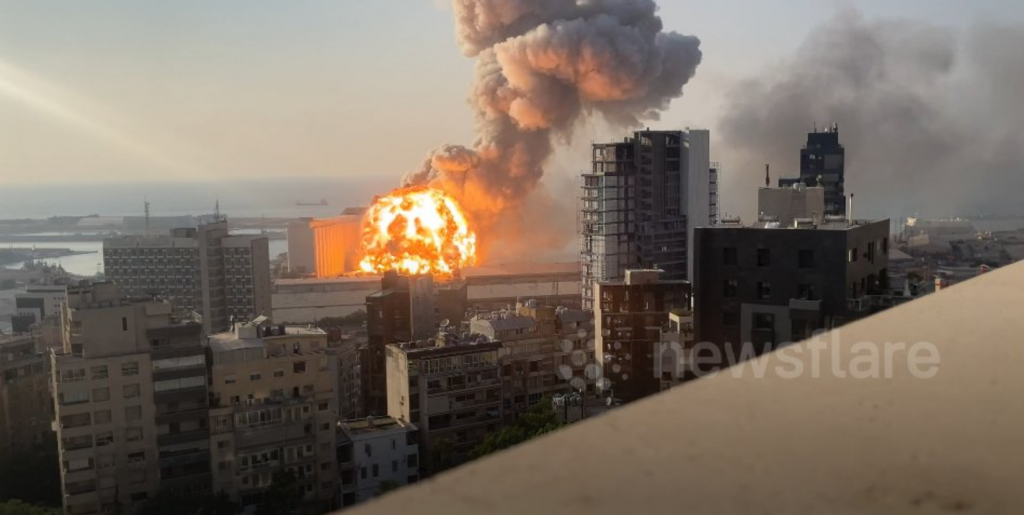 Explosions BEYROUTH 2 sur 2