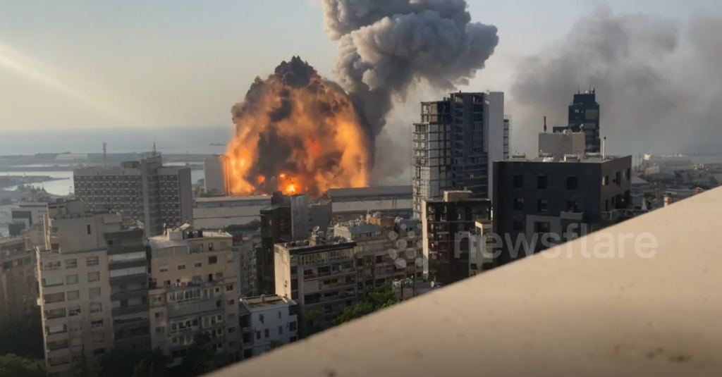 Explosions BEYROUTH 3