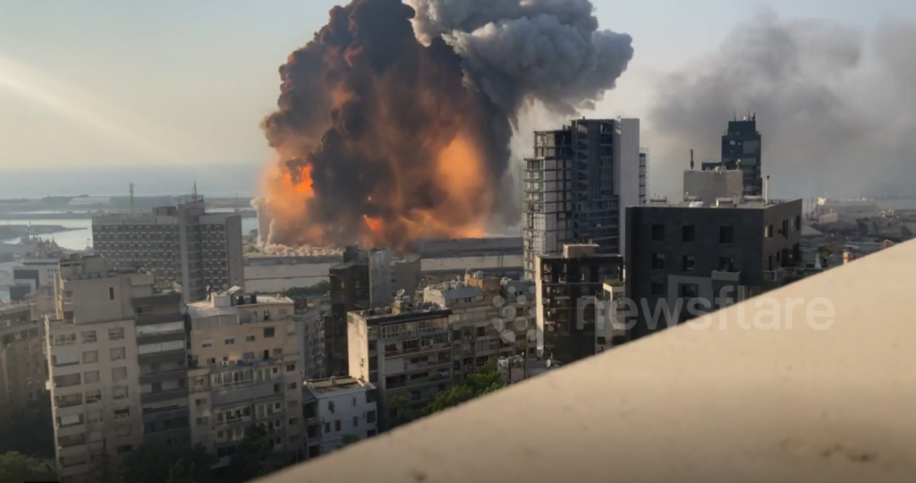 Explosions BEYROUTH 4