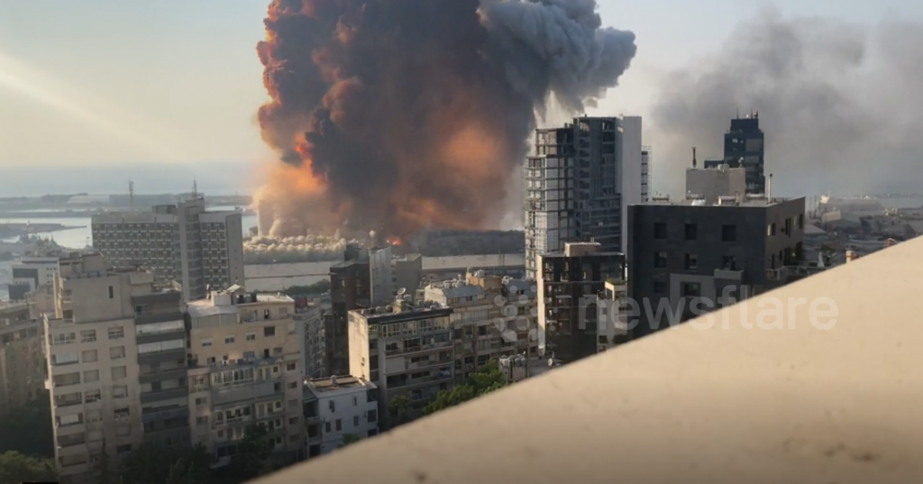 Explosions BEYROUTH 5png