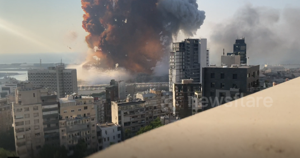 Explosions BEYROUTH 6