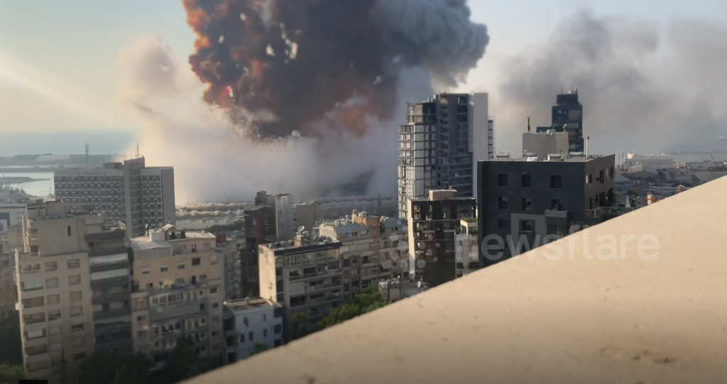 Explosions BEYROUTH 7