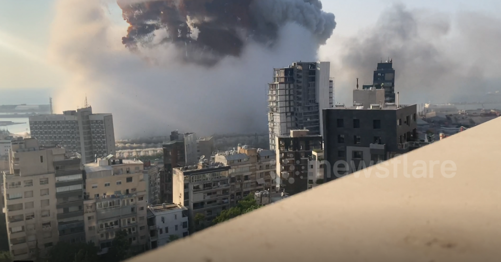 Explosions BEYROUTH 8