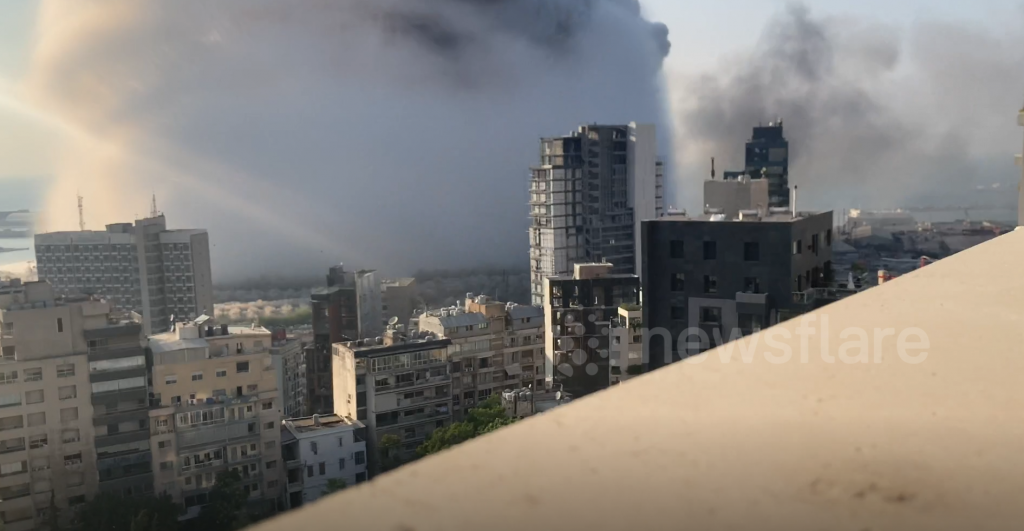 Explosions BEYROUTH 9