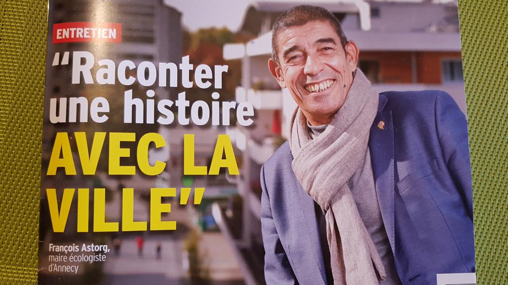 François ASTORG Maire d'ANNECY