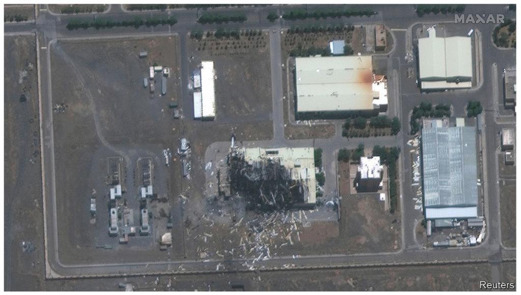 Site Iranien de NATANZ bombardé le 28 juin 2020