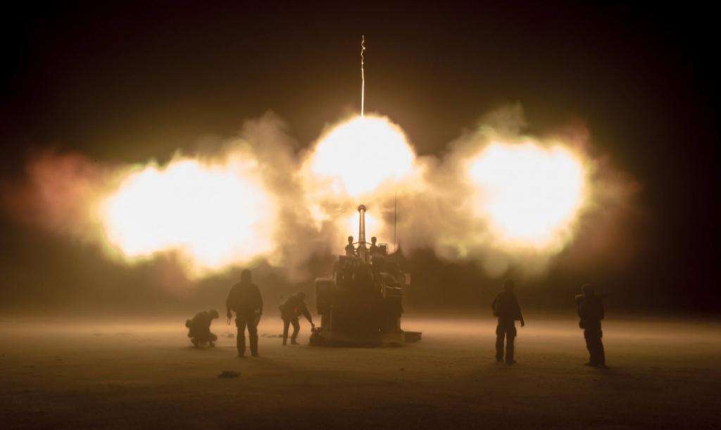 Canon CAESAR en action la nuit